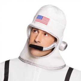 Stoffen helm / hoed astronaut (04283B)