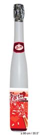 Confetti shooter hartjes in flesvorm (90 cm-66188E)
