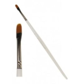 PXP penseel plat met ronde kop nr. 2 - breed 6 mm (40084)