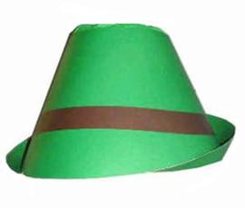 Tiroler hoed karton (94913P)
