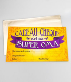 Cadeau-cheque SUPER OMA (04PD)