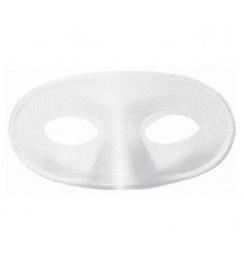 Ovaal oogmasker Wit - 16 cm (0999GF)