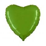 """Folie Hart 18"""" - Lime Groen"""