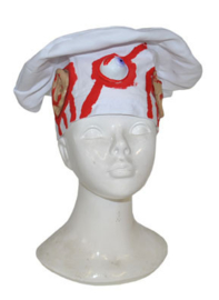 Bloederige koksmuts horror chef (74409E)