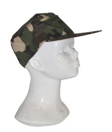 Leger pet camouflage - rekbaar (51126E)