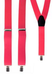 Bretel Neon Roze 3,5 cm breed (10047P)