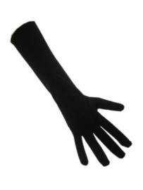 Handschoenen stretch zwart 30 cm XXS (12192P)