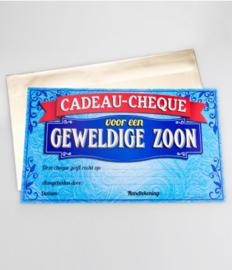 Cadeau-cheque GEWELDIGE ZOON (07PD)