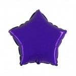 "Folie Ster 18"" - Paars / Purple"