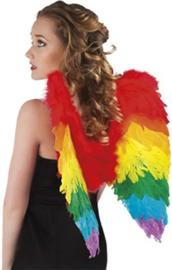 Vleugels engel Regenboog - 50 cm (52833B)