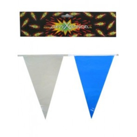 Vlaggenlijn Blauw Wit 10 meter (94979P)