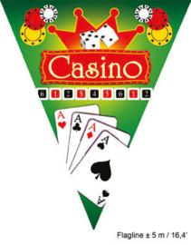Vlaggenlijn Casino - 5 meter (84387E)