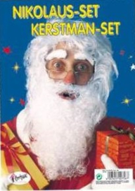 Kerstman-set Sint-set Wit (02756Ru)
