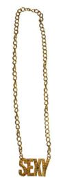 Gouden ketting Sexy (53391E)