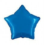 """Folie Ster 18"""" - Blauw / Saphire"""