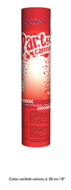 Confetti shooter rood 20 cm (red-66271E)