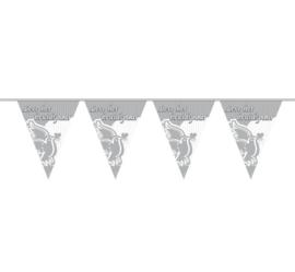 Vlaggenlijn Leve het bruidspaar - 10 meter (21007F)