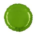 "Folie Rond 18"" - Lime Groen"