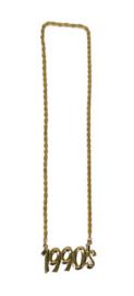 Gouden ketting 1990's (53477E)