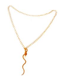 Gouden ketting Slang (53415E)