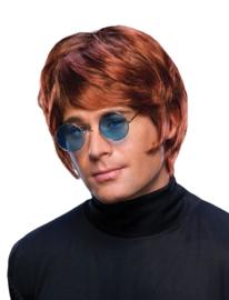 Pruik Sir Elton Roodbruin (57550E)