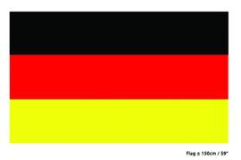 Vlag Duitsland - 90 x 150 cm (62224E)