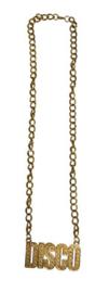 Gouden ketting Disco (53392E)