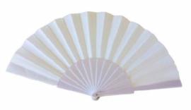 Spaanse waaier Wit (62360E)