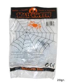 Spinnenweb wit 20 gram (54036E)