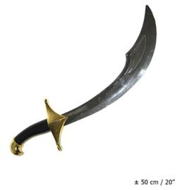 Oosters zwaard krom (52240E)