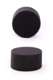 Schminkspons - grimeerspons  zwart (40117P)