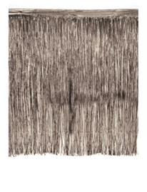 Tinsel gordijn Zilver 245 cm x 300 cm brandvertragend (84397E)