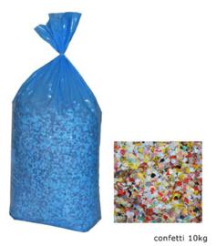 Confetti 10 kilo  multi (84316E)