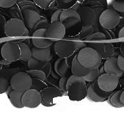 Confetti Zwart - 100 gram (08961F)
