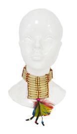 Halsketting indiaan (50625E)