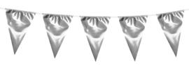 Mega vlaggenlijn Zilver 10 meter (74795B)