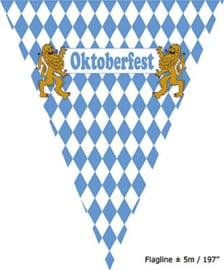 Vlaggenlijn Oktoberfest - 5 meter (84082E)