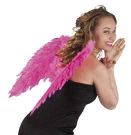 Vleugels engel Knal Roze - 50 cm (52823B)