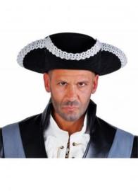 Driesteek / driespits Captain Hook Zwart/Zilver Maat 58 (99361F)