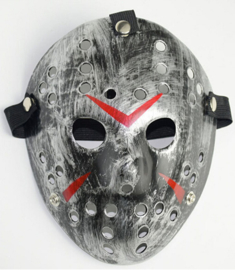 Masker Jason Voorhees Zilver (1965GF)