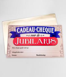 Cadeau-cheque JUBILARIS! (33PD)