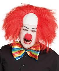 Horror clownspruik Rood (85992B)
