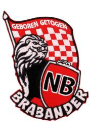 Applicatie Brabander geboren en getogen met leeuw  (15012P)