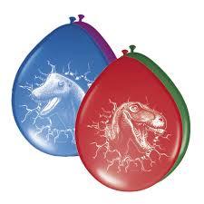 Ballonnen Dinosaurus - 6 stuks (61855F)