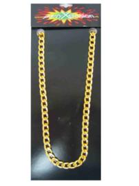 Pooier ketting goud fijn model (25279P)