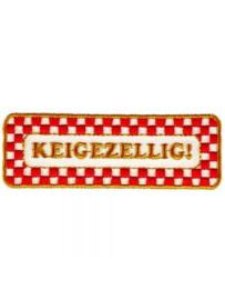 Strijkapplicatie Brabant - Keigezellig (05011B)