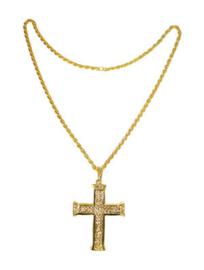 Gouden ketting Kruis (53380E)