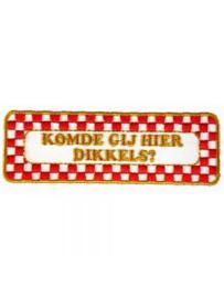 Strijkapplicatie Brabant - Komde gij (05013B)
