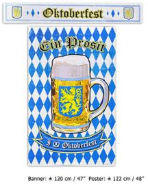Poster + Banner Oktoberfest (84359E)
