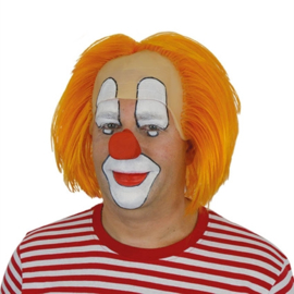 Clownspruik Bas Oranje (30189W)